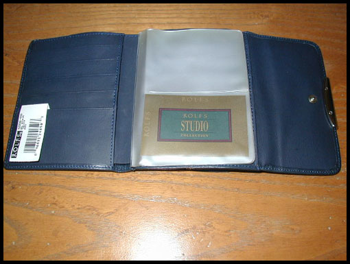 Rolfs Ladies Wallet NEW soft Navy leather $10